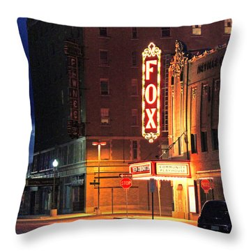 The Fox After The Show 2 Throw Pillow