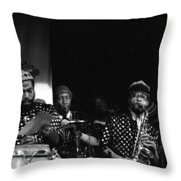 The Front Line Throw Pillow