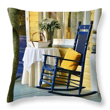The Front Porch Throw Pillow