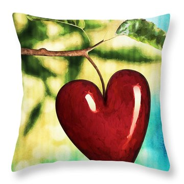 The Fruit Of The Spirit Throw Pillow