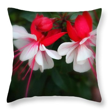 The Fuchsia Throw Pillow
