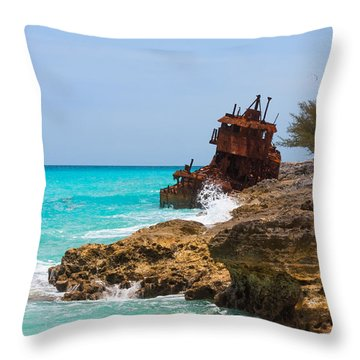 The Gallant Lady Throw Pillow