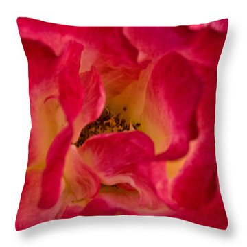 The Garden Of Love Throw Pillow