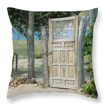 Throw Pillow featuring the photograph The Gates Of Paradise by Brian Boyle