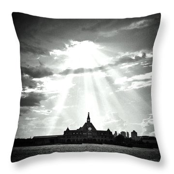 The Gateway Of Generations Throw Pillow