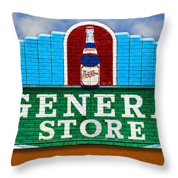The General Store Throw Pillow