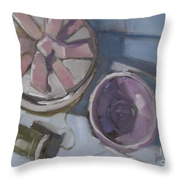 The Gift Throw Pillow by Mary Hubley