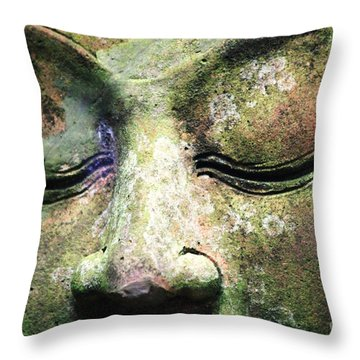 The Gifts Of Time Throw Pillow by Nola Lee Kelsey
