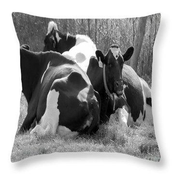 The Girls Throw Pillow