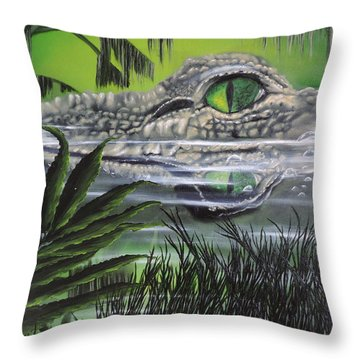 The Glades Throw Pillow