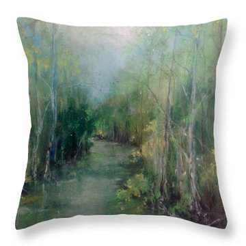 River Runs Deep Series #3 Throw Pillow
