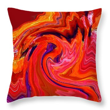 The Glory Of A Sunrise  Throw Pillow