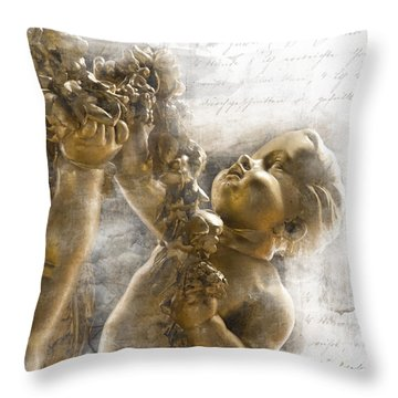 The Glory Of France Throw Pillow