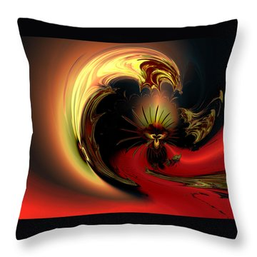 The Glory Of His Eminance Throw Pillow