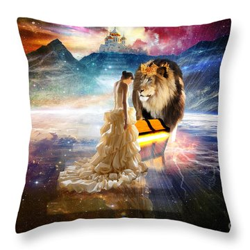 The Glory Season Throw Pillow
