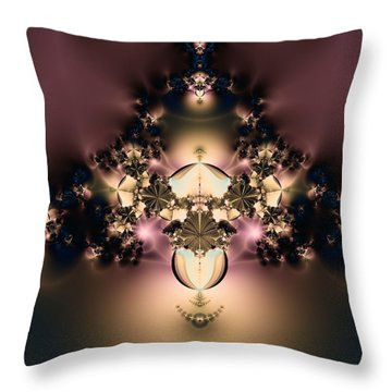 The Glow Within Throw Pillow