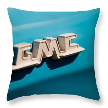 The Gmc Throw Pillow by Melinda Ledsome