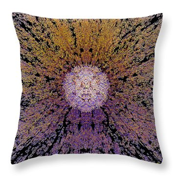 The God Particle Throw Pillow by Michael Durst