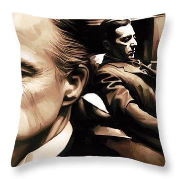 The Godfather Artwork Throw Pillow