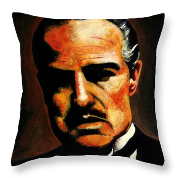 Godfather Throw Pillow