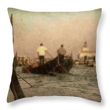 The Gondoliers Throw Pillow