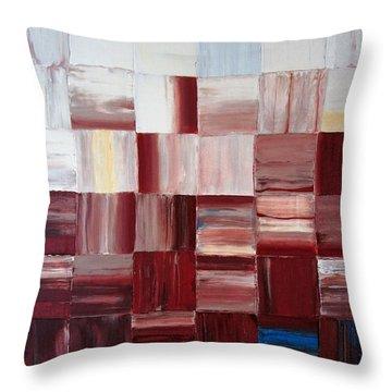 The Goss - Red Throw Pillow
