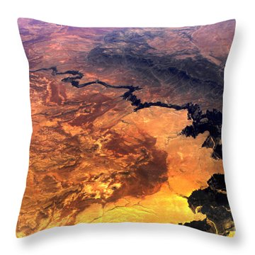 The Grand Beginning Throw Pillow