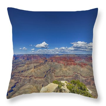 The Grand Canyon--another Look Throw Pillow by Angela A Stanton