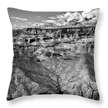 The Grand Canyon Throw Pillow by Bob and Nadine Johnston