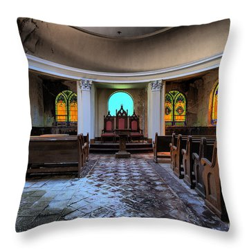 The Grand Geometrician Of The Universe Throw Pillow
