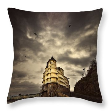 Throw Pillow featuring the photograph The Grand by Meirion Matthias