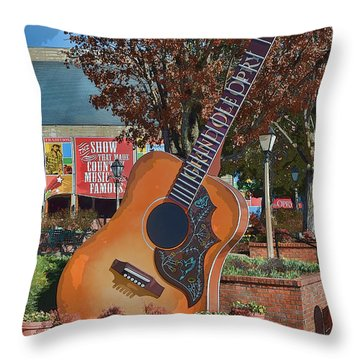 The Grand Ole Opry Throw Pillow