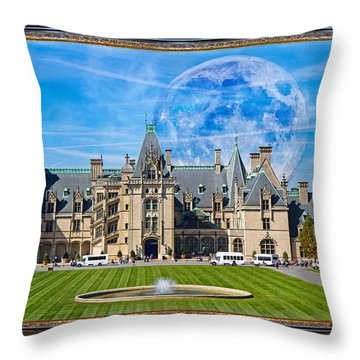 The Grand Vision  Throw Pillow
