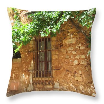 Throw Pillow featuring the photograph The Grapevine by Pema Hou