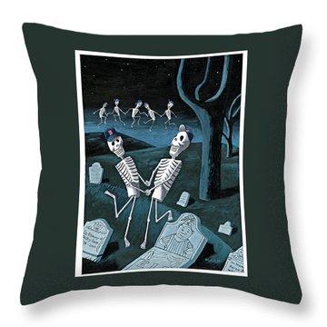 The Grateful Dead Throw Pillow
