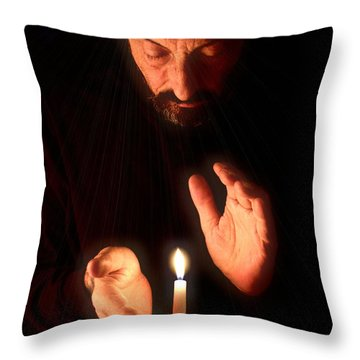 The Great Awakening Throw Pillow