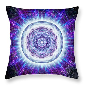 The Great Central Sun Throw Pillow