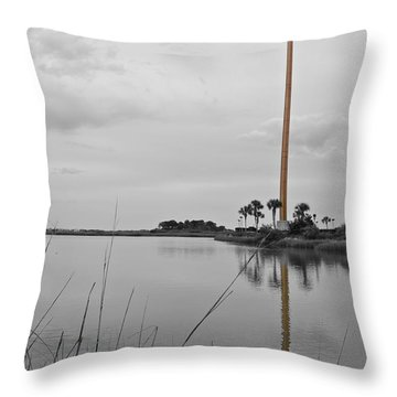 The Great Cross Throw Pillow