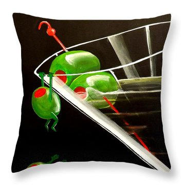 The Great Escape Throw Pillow by Darren Robinson