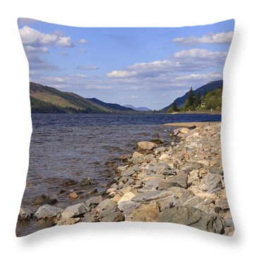 The Great Glen Throw Pillow