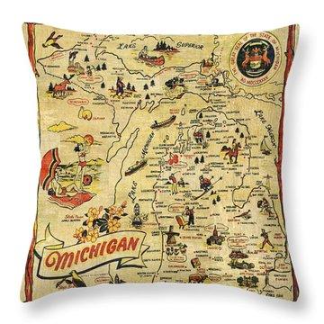 Lake Superior Throw Pillows