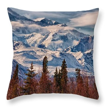 The Great One Throw Pillow