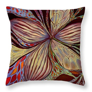 The Great Pollination Throw Pillow