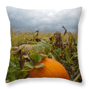 The Great Pumpkin Throw Pillow