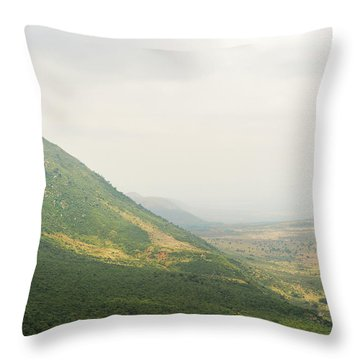 The Great Rift Valley Throw Pillow
