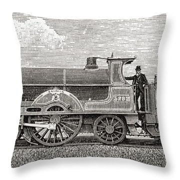 The Greater Britain Passenger Throw Pillow