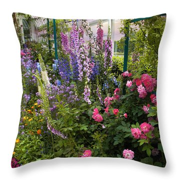 The Greenhouse Throw Pillow by Jessica Jenney