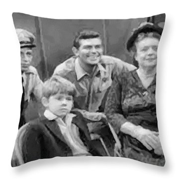 The Griffith Household Throw Pillow