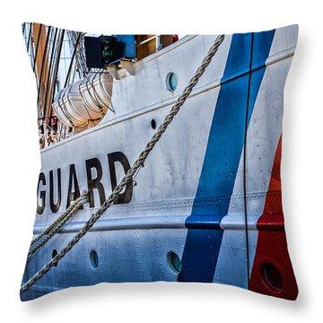 The Guard  Throw Pillow