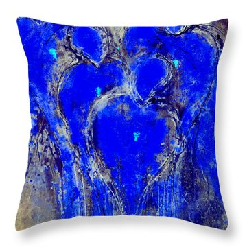 The Guardian Angels Of Mortals II Throw Pillow